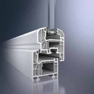 Finestra PVC doppi vetri