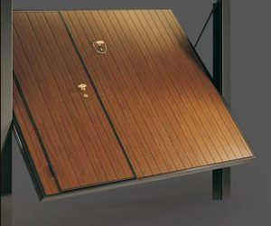 Basculanti alluminio effetto legno