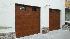 porte sezionali simil legno